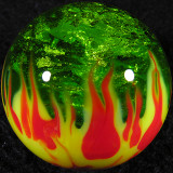Steve Willis, Organic Fire and Ice Size: 1.21 Price: SOLD