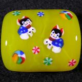 Wakana Ogura, Lucky Cat 2 Size: 1.03 x 0.85 Price: SOLD