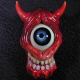 Devil Eye  Size: 2.53 x 1.69  Price: SOLD