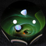 Eusheen Goines & Ben Burton: Opals on Prozac Size: 1.93 Price: SOLD