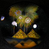 Magic Over the Pyramids  Size: 1.80  Price: SOLD