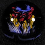 #17: Floral Flame  Size: 1.75  Price: $40