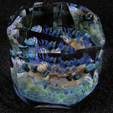 Faceted Fantasy  Size: 1.39 x 1.16  Price: SOLD