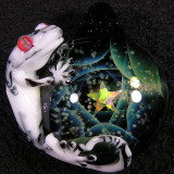 Cosmic Lizard  Size: 1.77  Price: SOLD