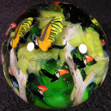 Rainforest in Flight Size: 1.96 Price: SOLD
