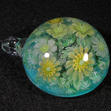 Wood Anemone and Celandine Size: 1.56 Price: SOLD
