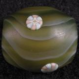 #18: Artist Unknown, Verde Swirl  Size: 0.83  Price: $40