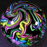 Virginia Wilson-Toccalino, Rainbow Damascus Size: 2.66 Price: SOLD