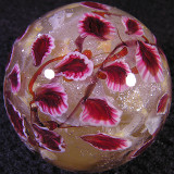 Koi Pond with Ruby Leaves Size: 1.36 Price: SOLD