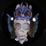 John Kobuki & Bob Snodgrass: Warrior Skull Size: 1.59 Price: SOLD