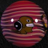 Mario Fireball Size: 1.38  Price: SOLD