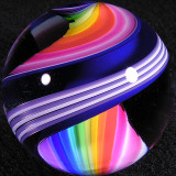 Rainbow Blues  Size: 1.81  Price: SOLD