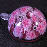 #113: Cherry Blossoms and Goldfish Size: 1.54 Price: $190
