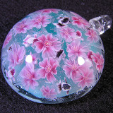 Cherry Blossoms and Goldfish Size: 1.53 Price: SOLD