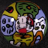 #17: Graffiti Cat Council Size: 1.96 Price: $750