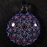 Mark Eastman (Introvert Glass), Eternal Snowflake Size: 1.82 Price: SOLD