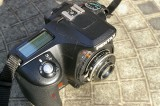 Argus 4.5 Model A Lens with Pentax K100 D