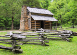 John Oliver Cabin, Cades Cove in Great Smoky Mountains National Park