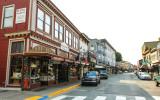 Main street in Juneau Alaska