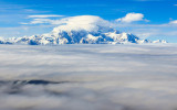 Mount McKinley above the clouds