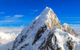 The peak of Mount Huntington
