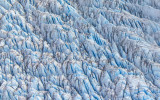 Ruth Glacier on Mount McKinley from the air