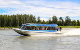 Another jet boat along the Chulitna River