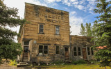 """Old """"Groceries & Meat, Hardware"""" store in McCarthy, Wrangell-St Elias National Park"""