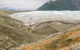 Root Glacier meets the Kennicott Glacier moraine in Wrangell-St Elias National Park