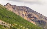 Rugged mountain peak in Wrangell-St Elias National Park