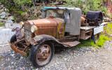 "Miners truck ""Rigor-Mortis"" in Kennecott, Wrangell-St Elias National Park"