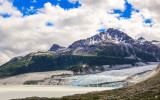 Shamrock Lake and Shamrock Glacier