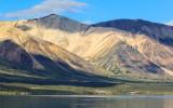 Mountains around Twin Lakes in Lake Clark National Park