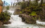 Tanalian Falls on the Tanalian Falls Trail in Lake Clark National Park
