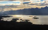 Early morning over Lake Clark in Lake Clark National Park