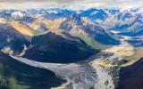 Mountain scene above Lake Clark National Park