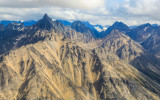 Rugged mountains in Lake Clark National Park