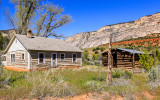 The old Chew ranch along the Echo Park Road in Dinosaur National Monument