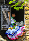 Mexican Quinceañera Celebration at Mission San Jose in San Antonio Missions NHP