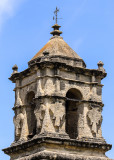 Bell tower of Mission San Jose in San Antonio Missions NHP