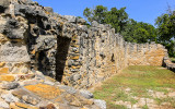 Ruins at Mission San Juan in San Antonio Missions NHP
