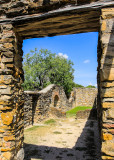 Ruins at Mission Espada in San Antonio Missions NHP