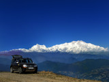 Driving to Singalila NP enroute Sandakphu and Sikkim