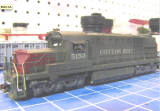 2014_07_11_the_inspiration_Jim_Bence_N_scale_RSD-15_MRC_shell_on_Atlas_B40-8_mech_with_C628_trucks