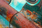 Raindrops on Rust and Patina