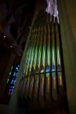 Sagrada D' Famalia Organ Pipes