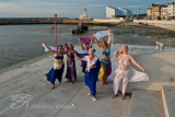 Belly Dancers at Margate Harbour!