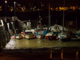 Broadstairs Harbour at night