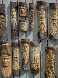Detling Garden Show Carvings