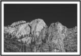 Rocks near temple of sinawava